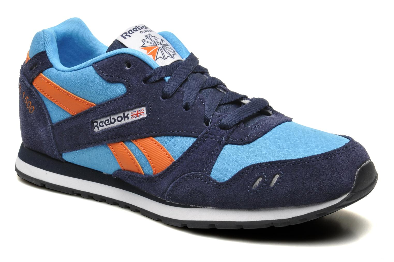 Sneakers Reebok GL 1500 Blauw detail