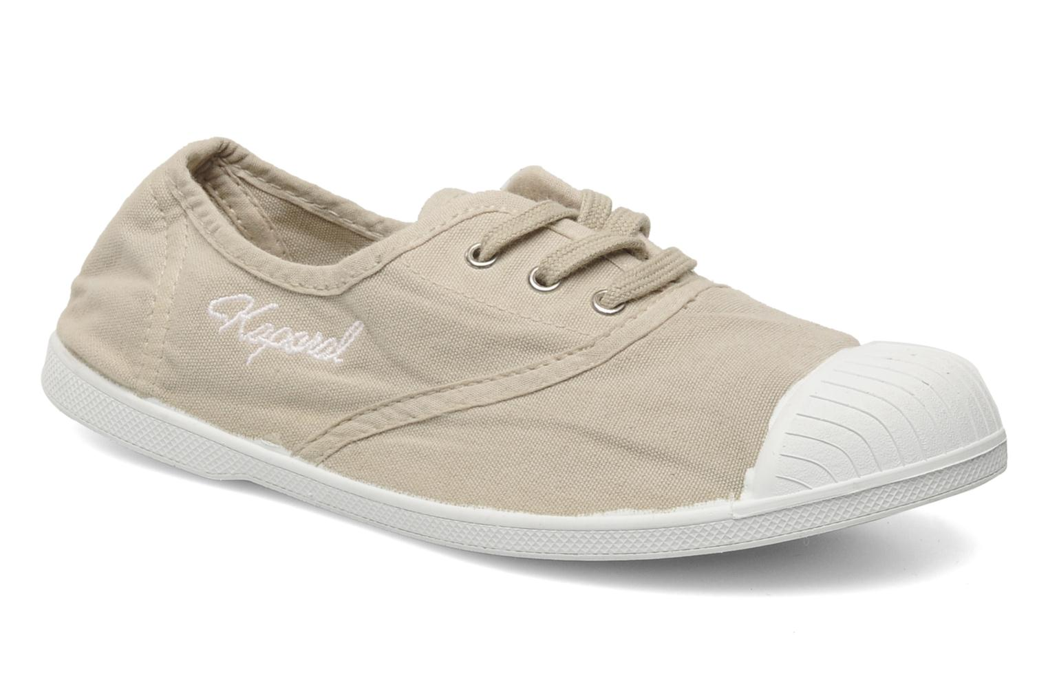 Trainers Kaporal VICKANO Beige detailed view/ Pair view