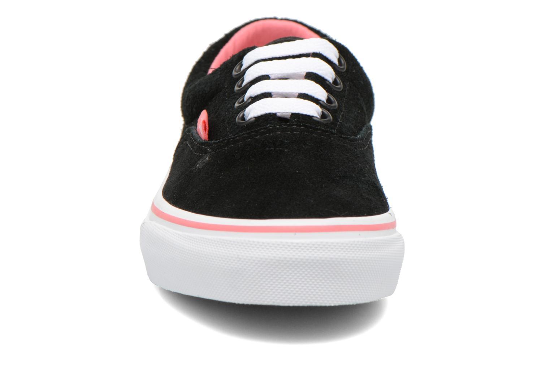 Sneaker Vans Era E schwarz schuhe getragen