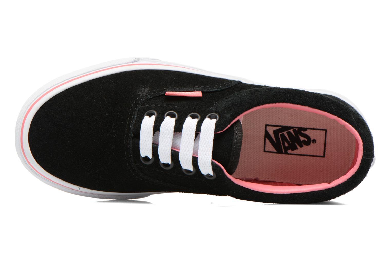 Sneaker Vans Era E schwarz ansicht von links