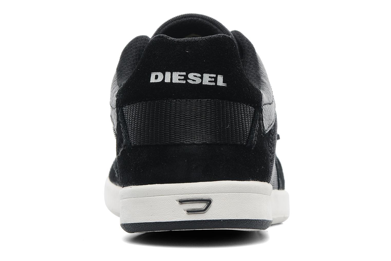 Baskets Diesel Starch Noir vue droite