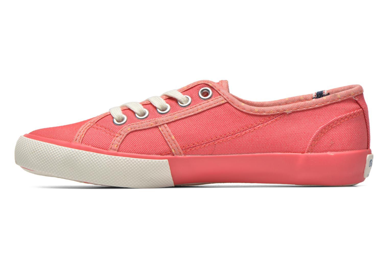 Sneakers Pepe jeans BAKER Roze voorkant