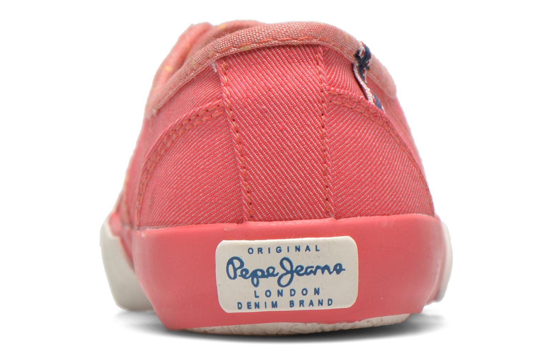 Sneakers Pepe jeans BAKER Roze rechts
