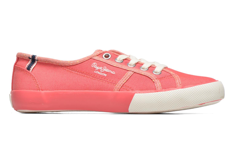 Sneakers Pepe jeans BAKER Roze achterkant