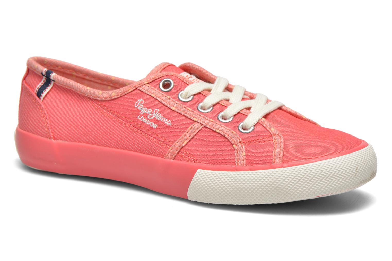 Sneakers Pepe jeans BAKER Roze detail