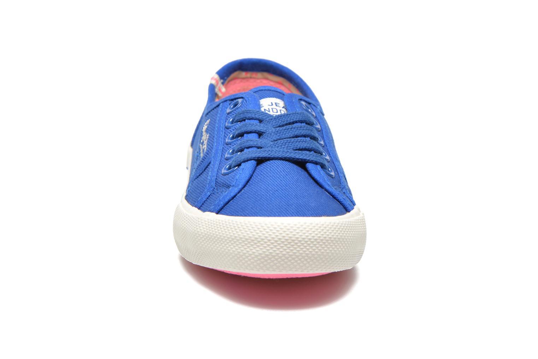 Baskets Pepe jeans BAKER Bleu vue portées chaussures