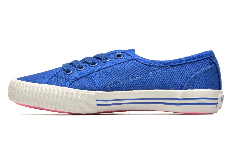 Baskets Pepe jeans BAKER Bleu vue face