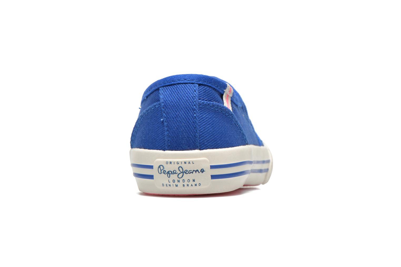 Sneakers Pepe jeans BAKER Blauw rechts