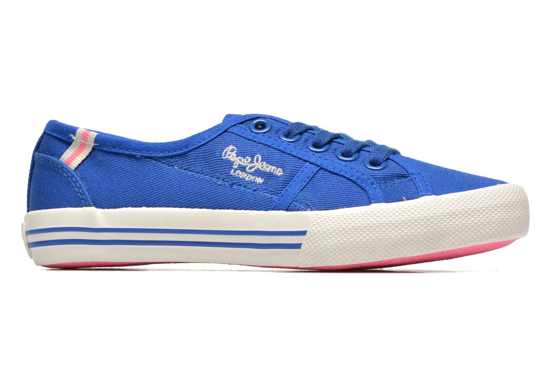 Baskets Pepe jeans BAKER Bleu vue derrière