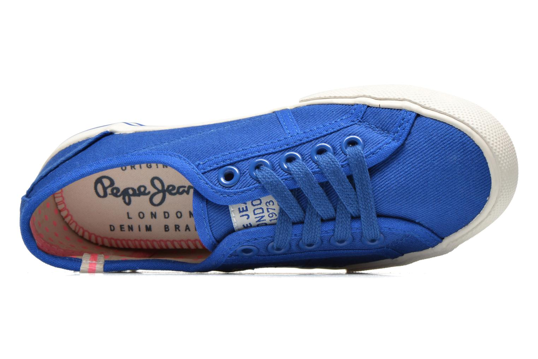 Sneakers Pepe jeans BAKER Blauw links