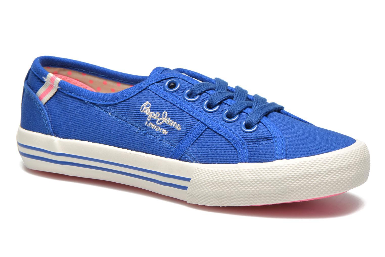 Baskets Pepe jeans BAKER Bleu vue détail/paire