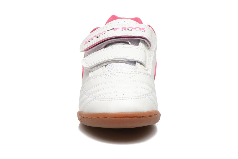 Baskets Kangaroos Power Court Blanc vue portées chaussures