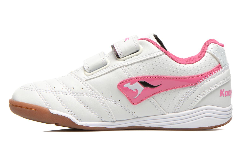 Sneakers Kangaroos Power Court Wit voorkant