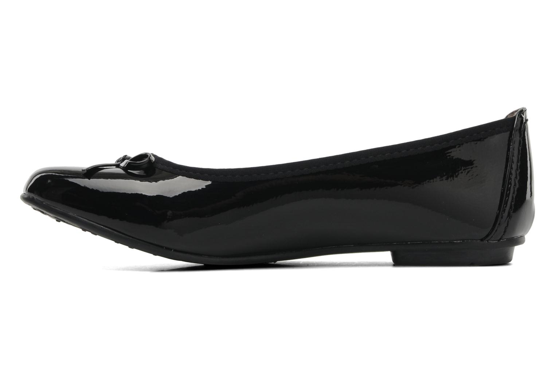 Ballerina's Jana shoes Sogemmi Zwart voorkant