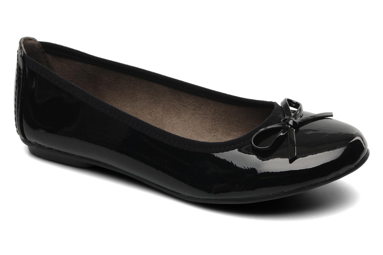 Ballerina's Jana shoes Sogemmi Zwart detail