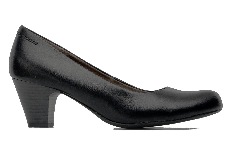 Escarpins Jana shoes Sozohe Noir vue derrière
