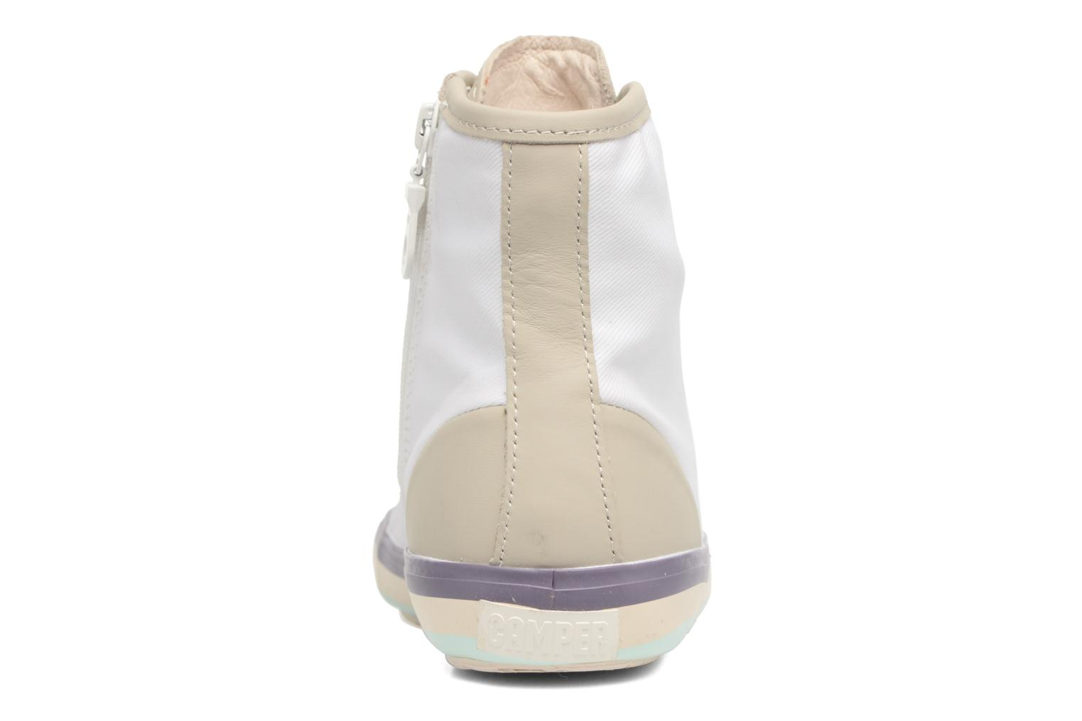 Trainers Camper Portol 46706 Beige view from the right