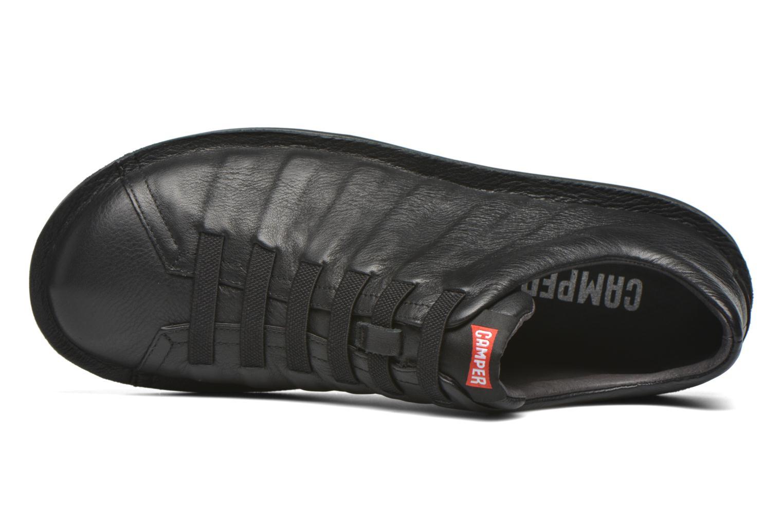 Sneakers Camper Beetle 18751 Nero immagine sinistra