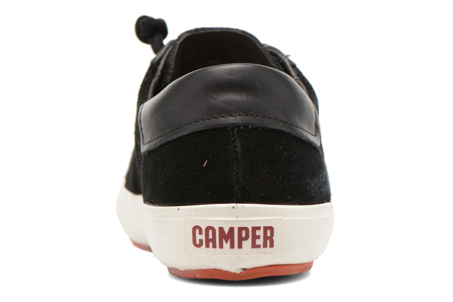 Trainers Camper Portol 18839 Black view from the right