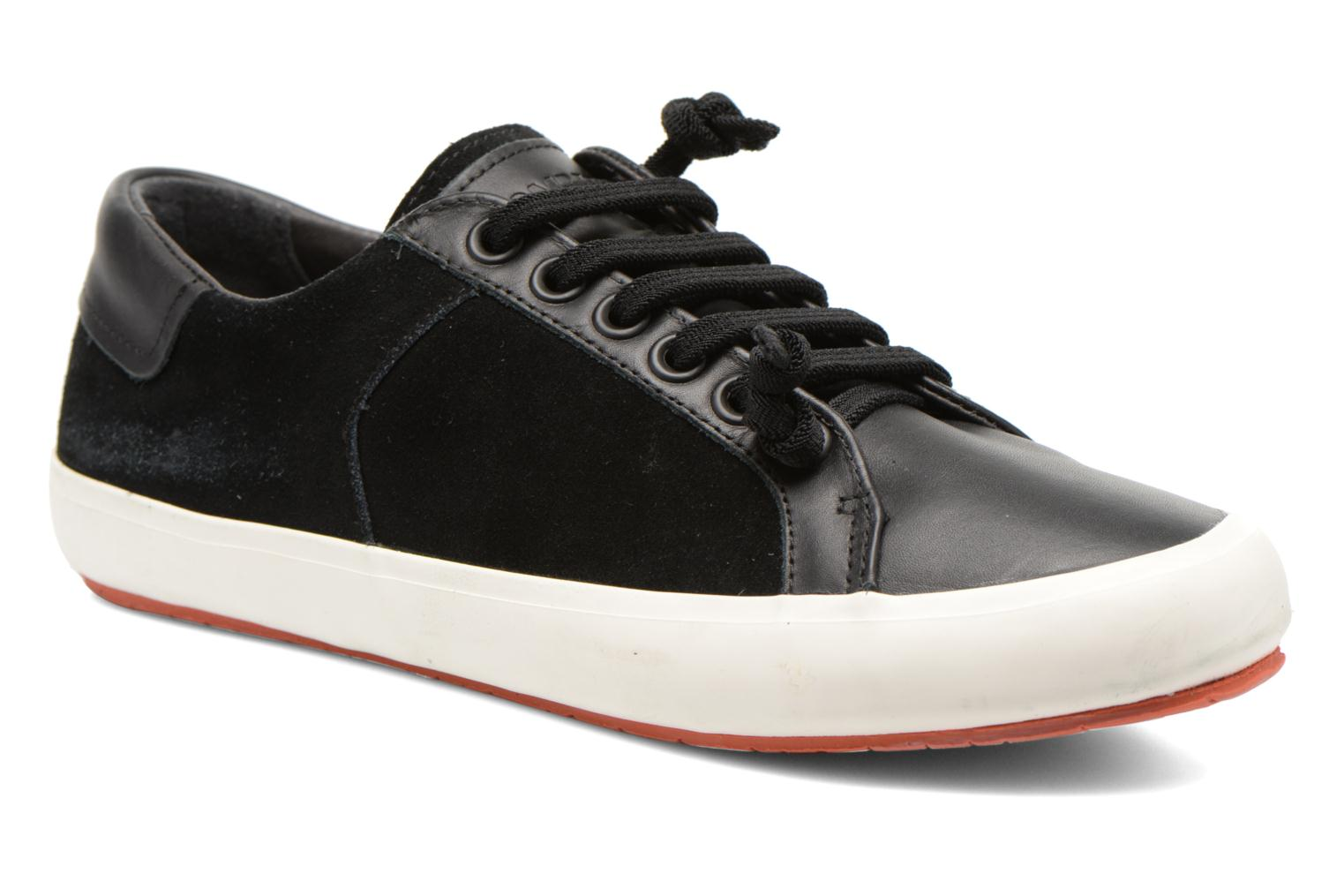 Trainers Camper Portol 18839 Black detailed view/ Pair view