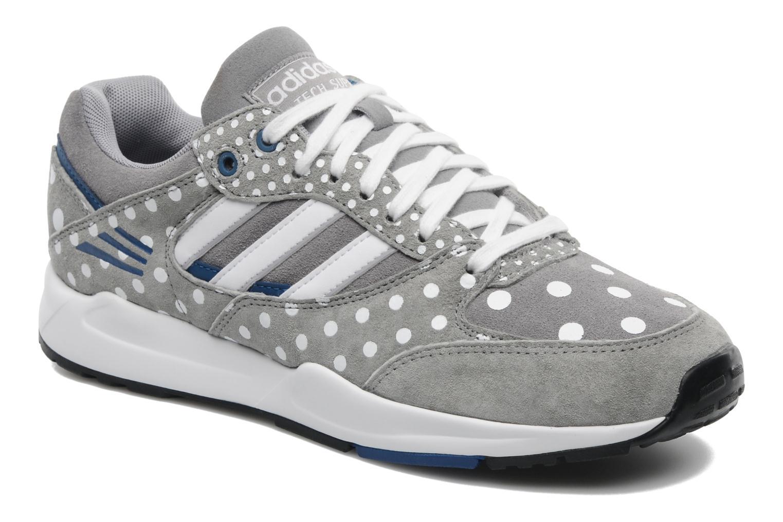 Sneakers Adidas Originals Tech Super Ef W Grå detaljeret billede af skoene