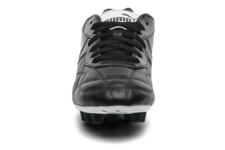 Sportschuhe Puma Liga Classic FG schwarz schuhe getragen