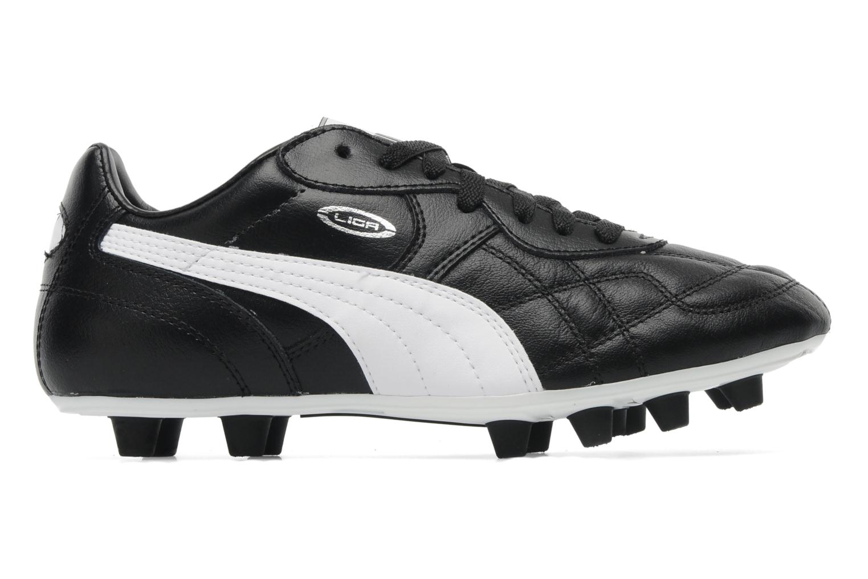 Sportschoenen Puma Liga Classic FG Zwart achterkant