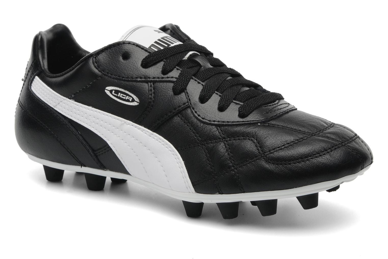 Sportschoenen Puma Liga Classic FG Zwart detail