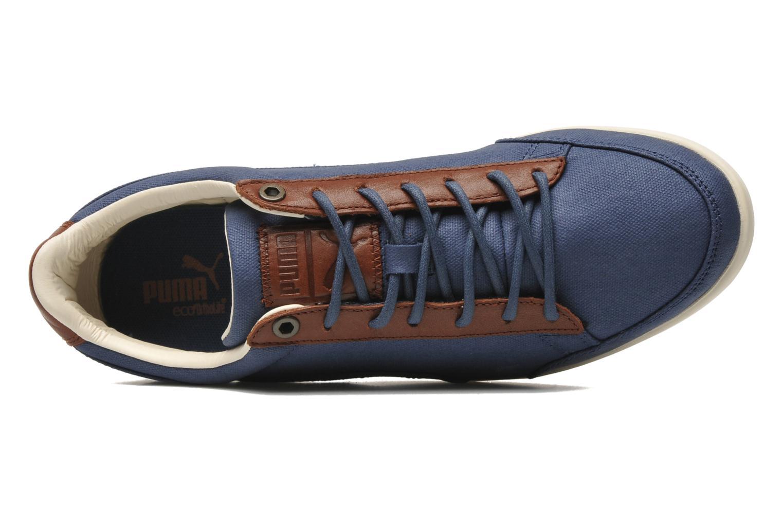 Sneaker Puma Catskill Canvas blau ansicht von links