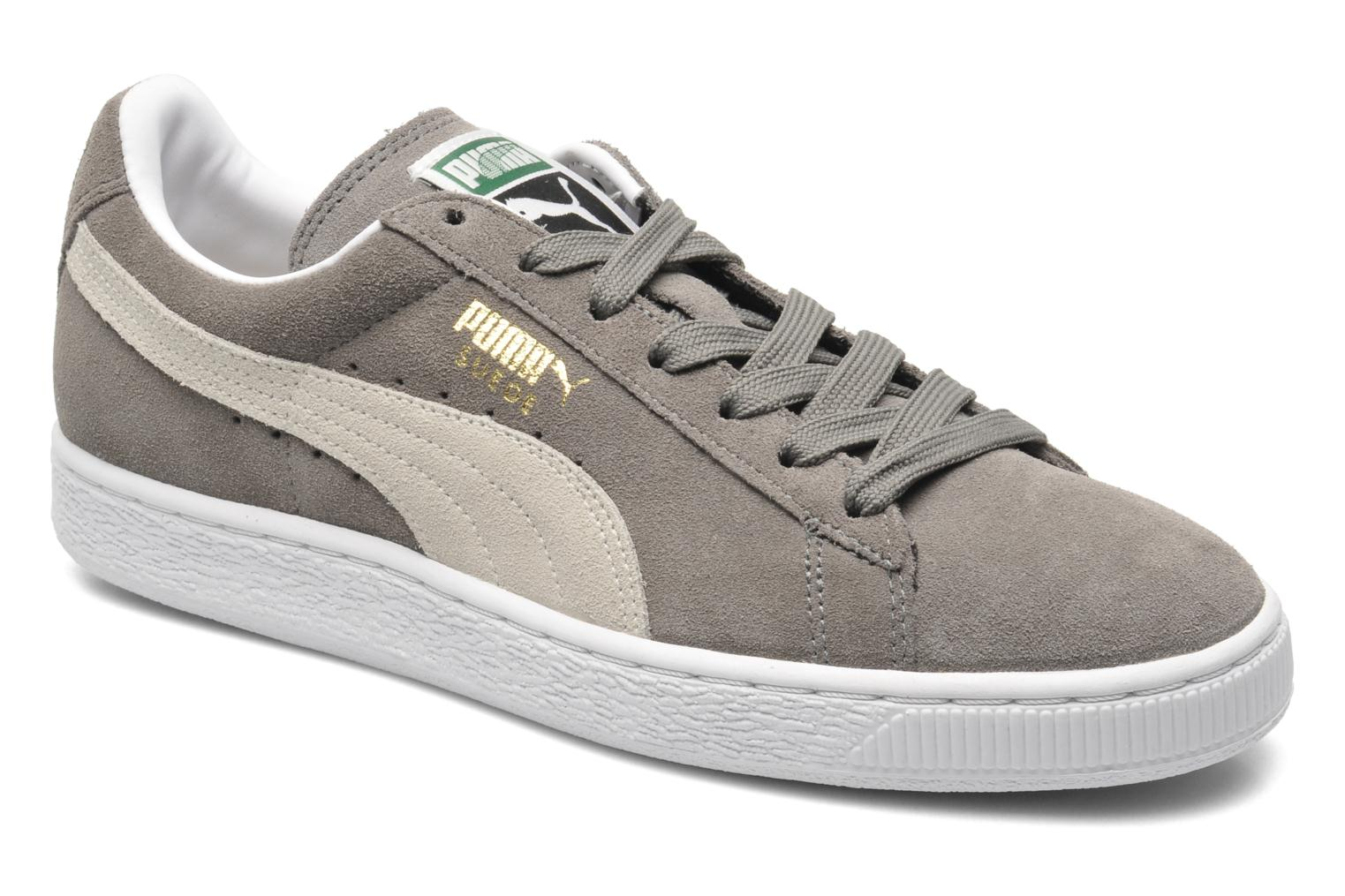 Trainers Puma Suede Classic+ Grey detailed view/ Pair view
