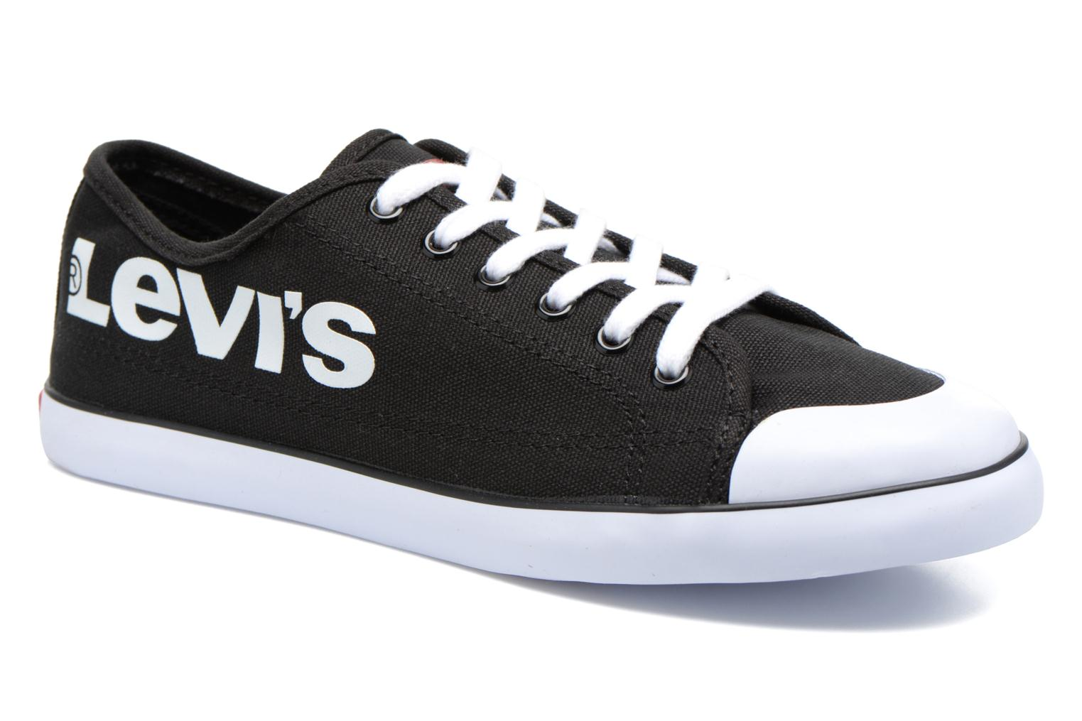 Baskets Levi's Venice Beach Low Noir vue détail/paire