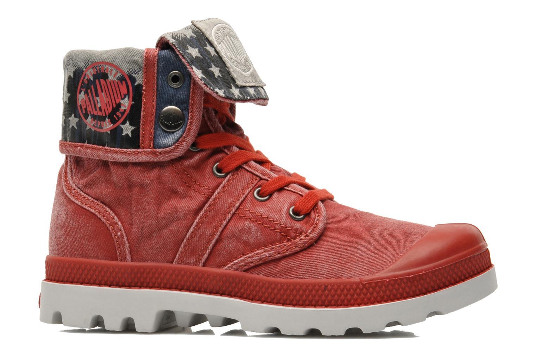 Bottines et boots Palladium Baggy Kid Flag Rouge vue derrière