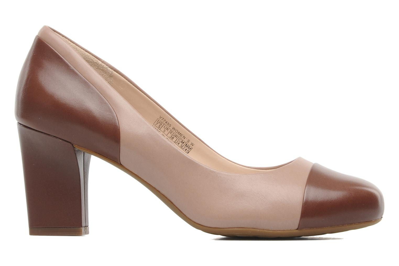 Escarpins Rockport Sto7H75 Color Block Pump Marron vue derrière