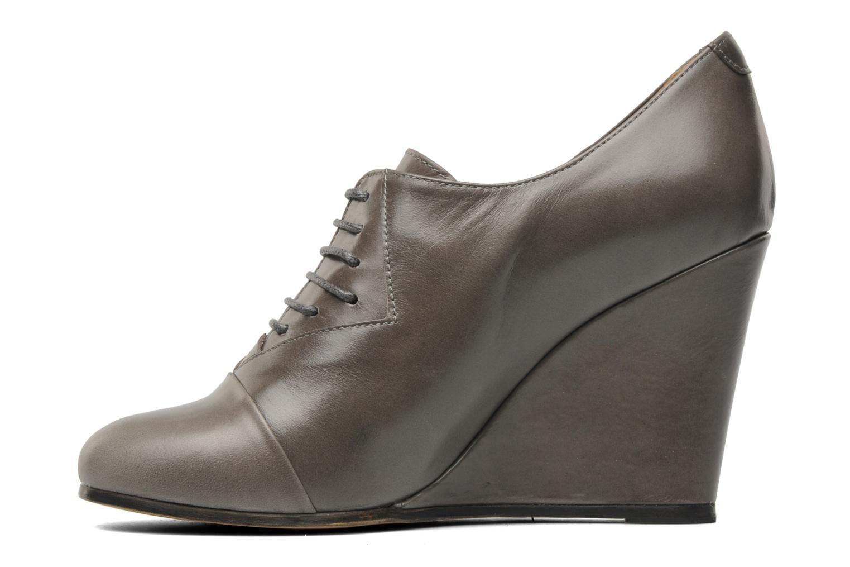 Chaussures à lacets Royal Republiq Neriya oxford shoe Gris vue face