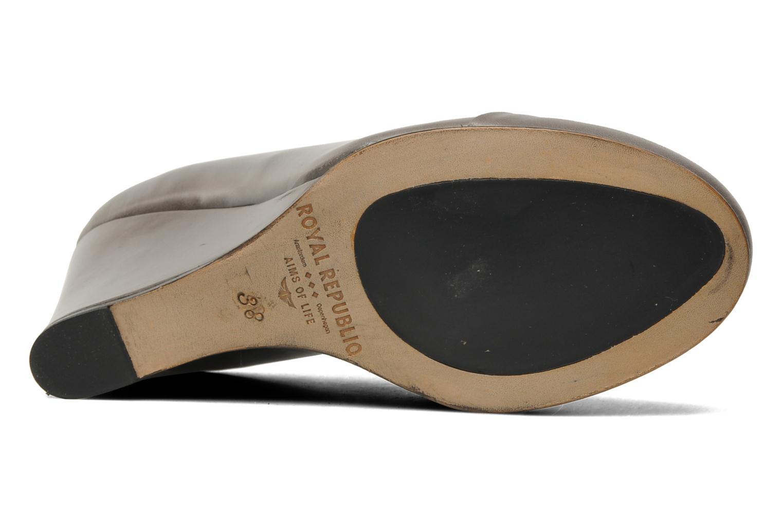 Scarpe con lacci Royal Republiq Neriya oxford shoe Grigio immagine dall'alto