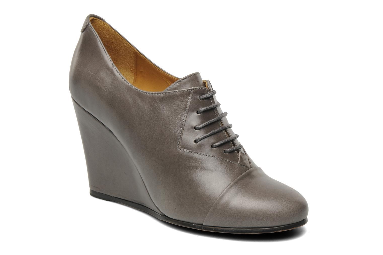Chaussures à lacets Royal Republiq Neriya oxford shoe Gris vue détail/paire