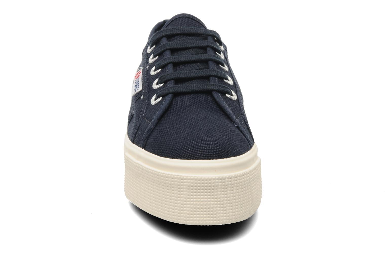 Sneakers Superga 2790 Cot Plato Linea W Blå se skoene på