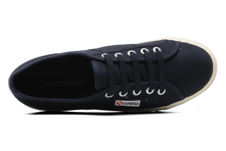 Sneakers Superga 2790 Cot Plato Linea W Blå se fra venstre