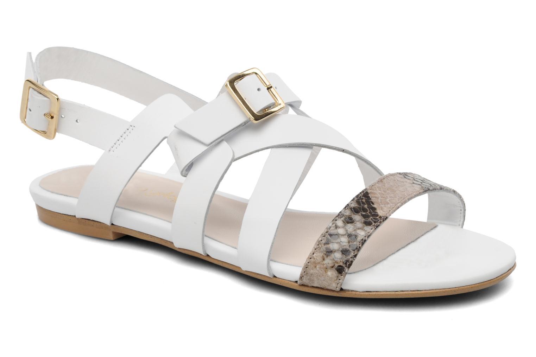 Sandaler Mellow Yellow Pinson Hvid detaljeret billede af skoene