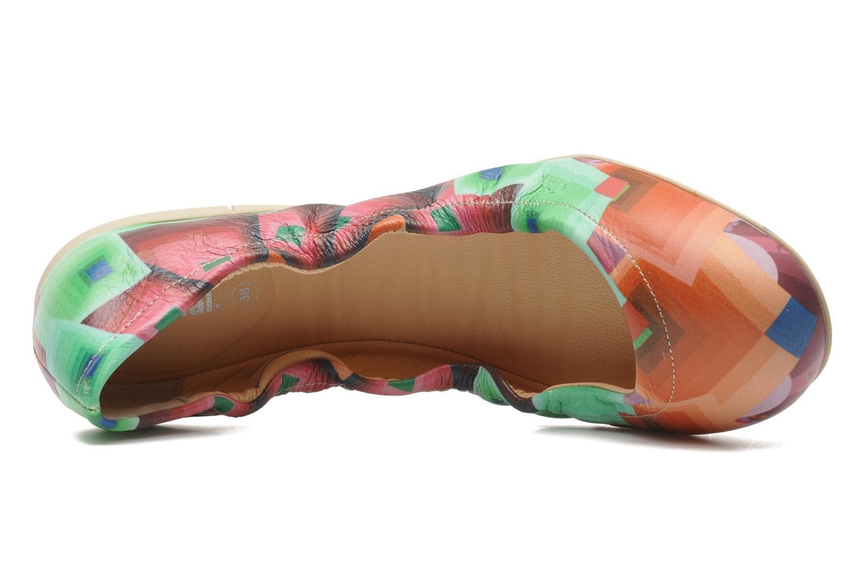 Ballerinas Desigual loumia mehrfarbig ansicht von links