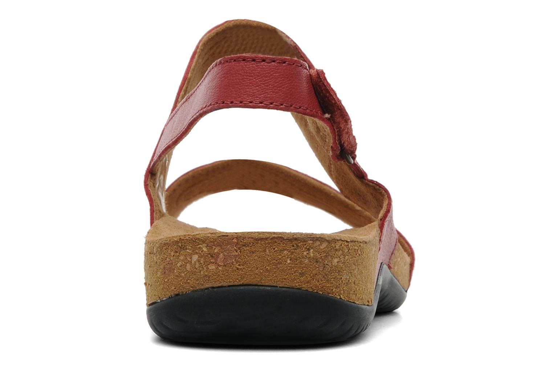 Sandalen TBS Baseli Rood rechts