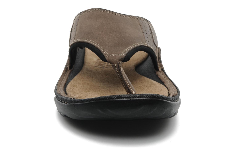 Tongs TBS Easy Walk Cartag Marron vue portées chaussures