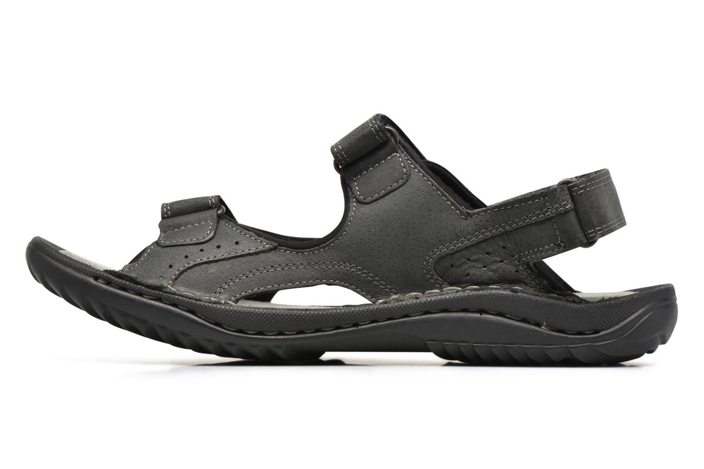 Sandalen TBS Easy Walk Carway schwarz ansicht von vorne