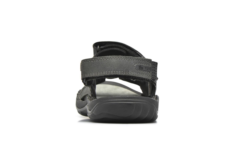 Sandalen TBS Easy Walk Carway schwarz ansicht von rechts