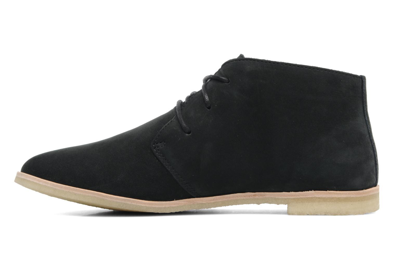 Chaussures à lacets Clarks Originals Phenia Desert Noir vue face