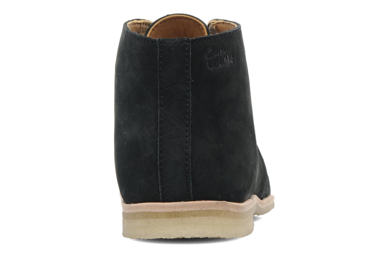 Chaussures à lacets Clarks Originals Phenia Desert Noir vue droite
