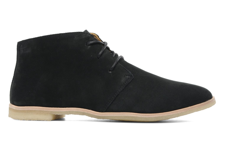 Chaussures à lacets Clarks Originals Phenia Desert Noir vue derrière