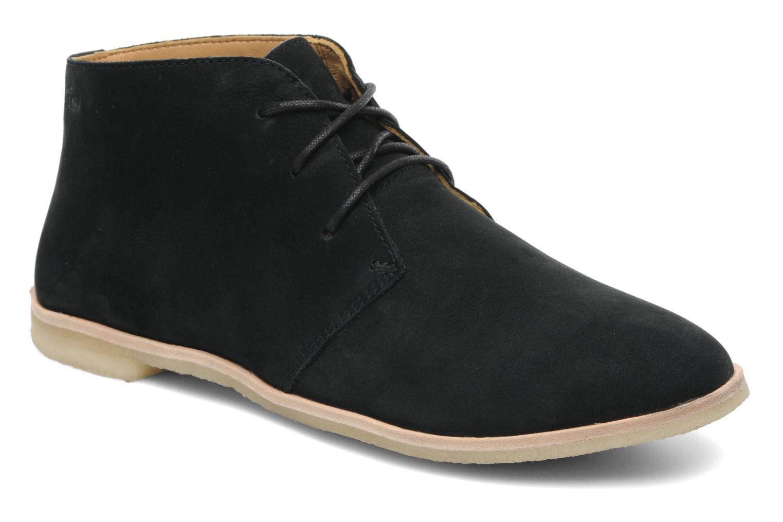 Chaussures à lacets Clarks Originals Phenia Desert Noir vue détail/paire