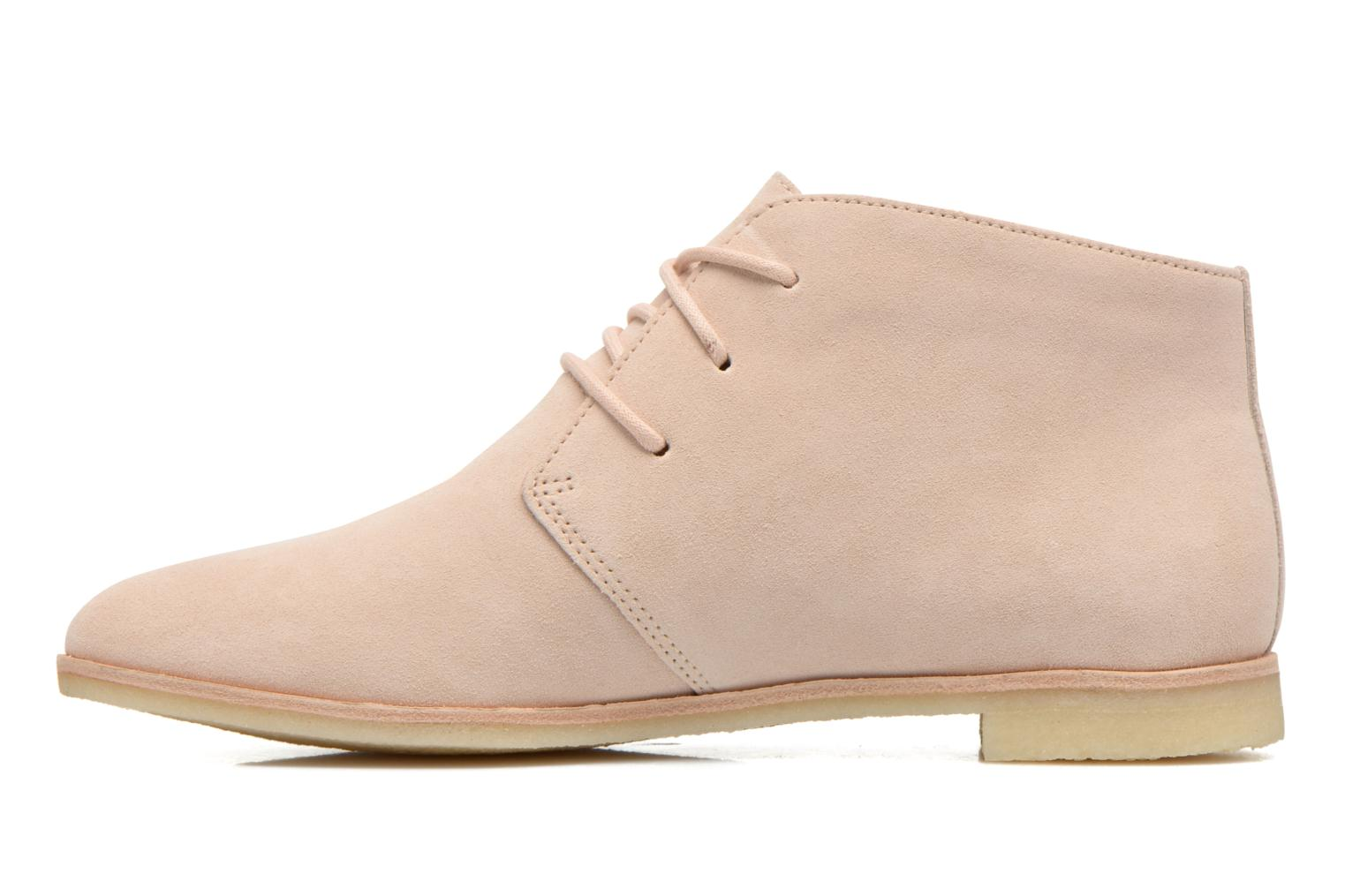 Chaussures à lacets Clarks Originals Phenia Desert Rose vue face