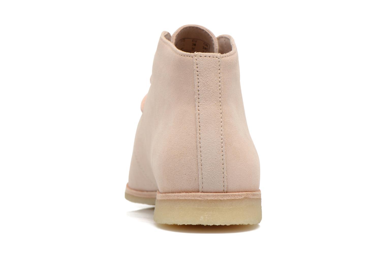 Chaussures à lacets Clarks Originals Phenia Desert Rose vue droite